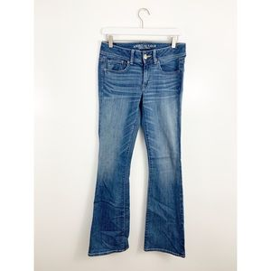 American Eagle Medium Wash Kick Boot Bootcut Jeans